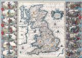 Speed, John: Map of the British Isles (Britannia). Antique/Vintage 17th Century Map. Fine Art Print/Poster. Sizes: A4/A3/A2/A1 (003883)